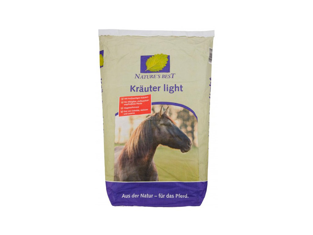EQUOVIS NATURES BEST Kraeuter Light 8870631 4026921208604 1 frei 600x600