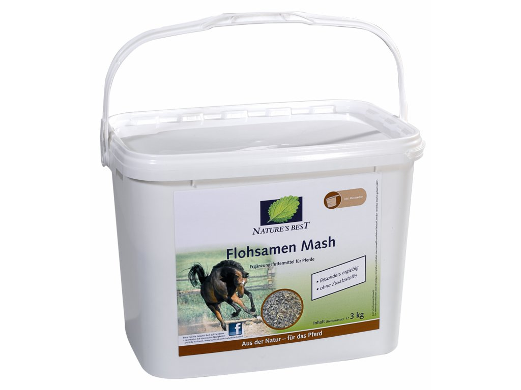 Flohsamen Mash 3 kg