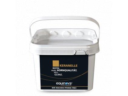 Keranelle - prášek 1,4 kg (Equinova)  na kopyta, srst a hřívu