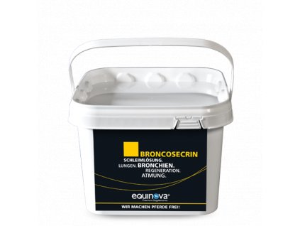 Broncosecrin - prášek 1,4 kg (Equinova)  pro uvolnění hlenu a volné dýchání u koní