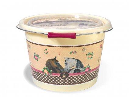 Pamlsky Glückspilze - kbelík 5 kg  Pamlsky pro koně s červenou řepou