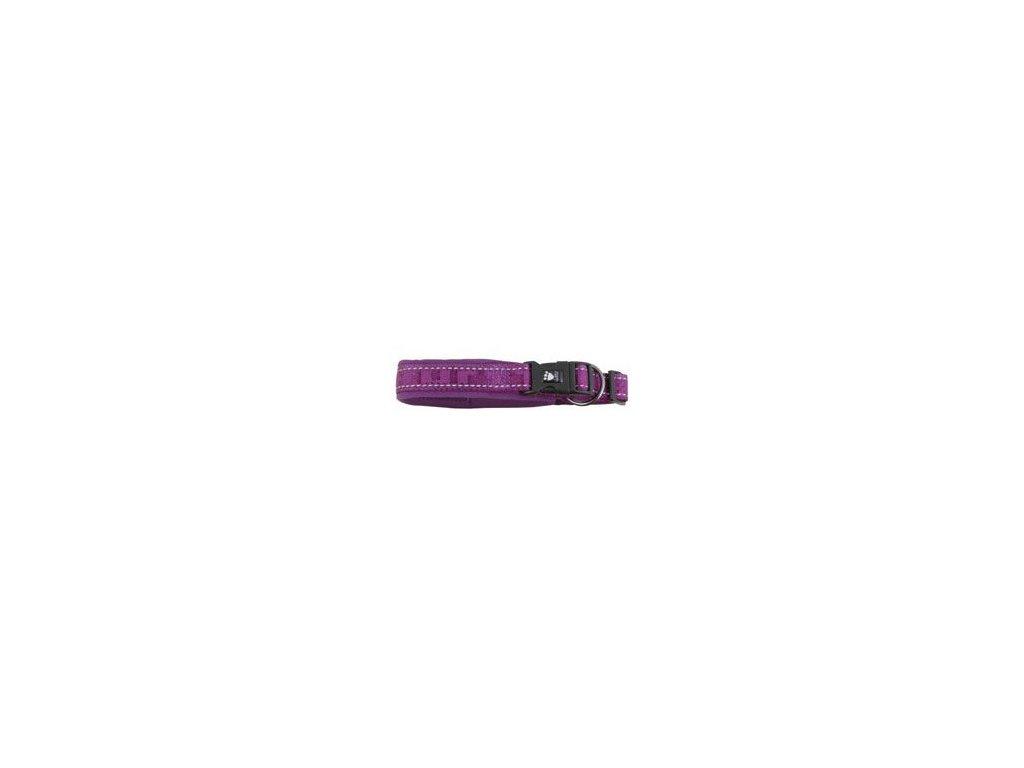 Obojek Hurtta Casual fialový 30-40cm