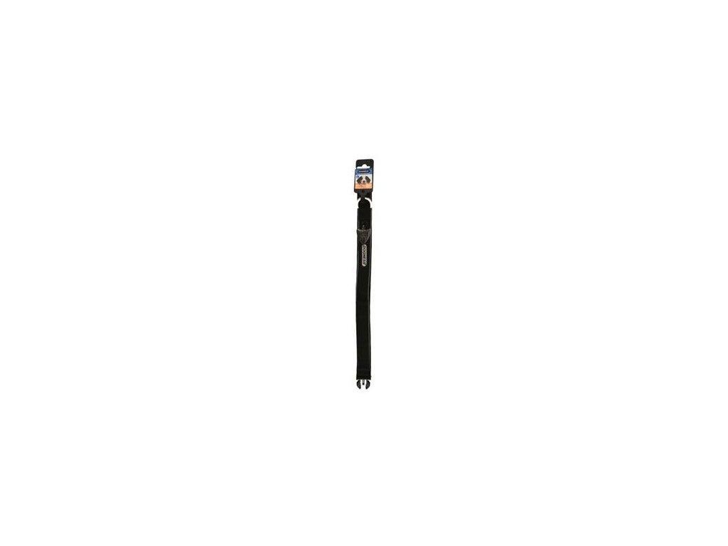 Obojek IMAC nylon černý 56-68/3,8 cm