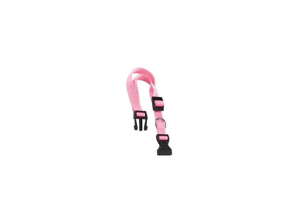 Obojek nylon CLUB C 56cmx20mm růžový FP 1ks