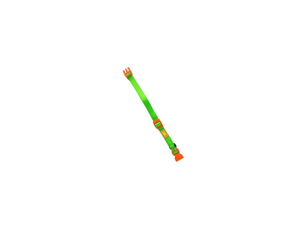 Obojek nylon CLUB C 56cmx20mm zelený FP 1ks