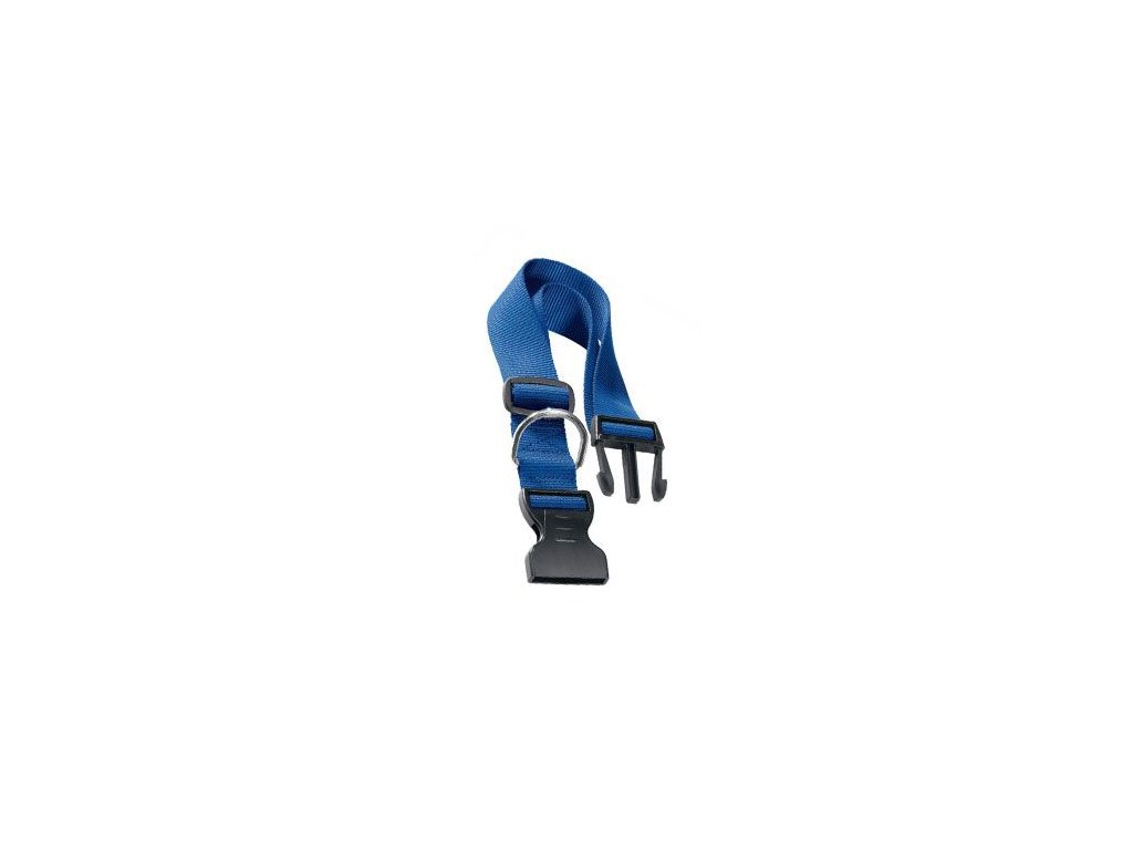 Obojek nylon CLUB C 70cmx25mm modrý FP 1ks