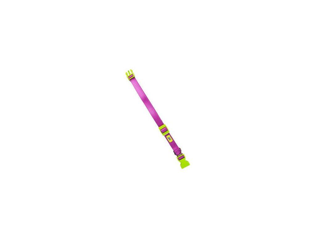 Obojek nylon CLUB C 70cmx25mm světle fialový FP 1ks