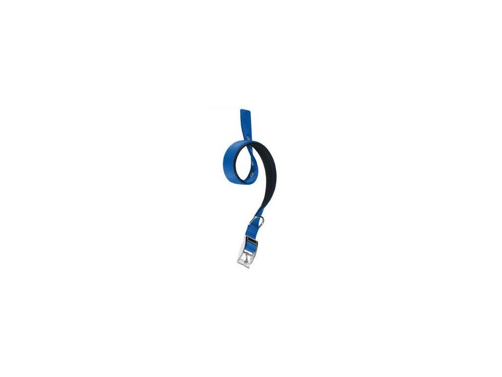 Obojek nylon DAYTONA C 53cmx25mm modrý FP 1ks