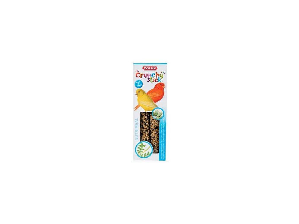 Crunchy Stick Canary Zrní/Řepík lékařský 2ks Zolux