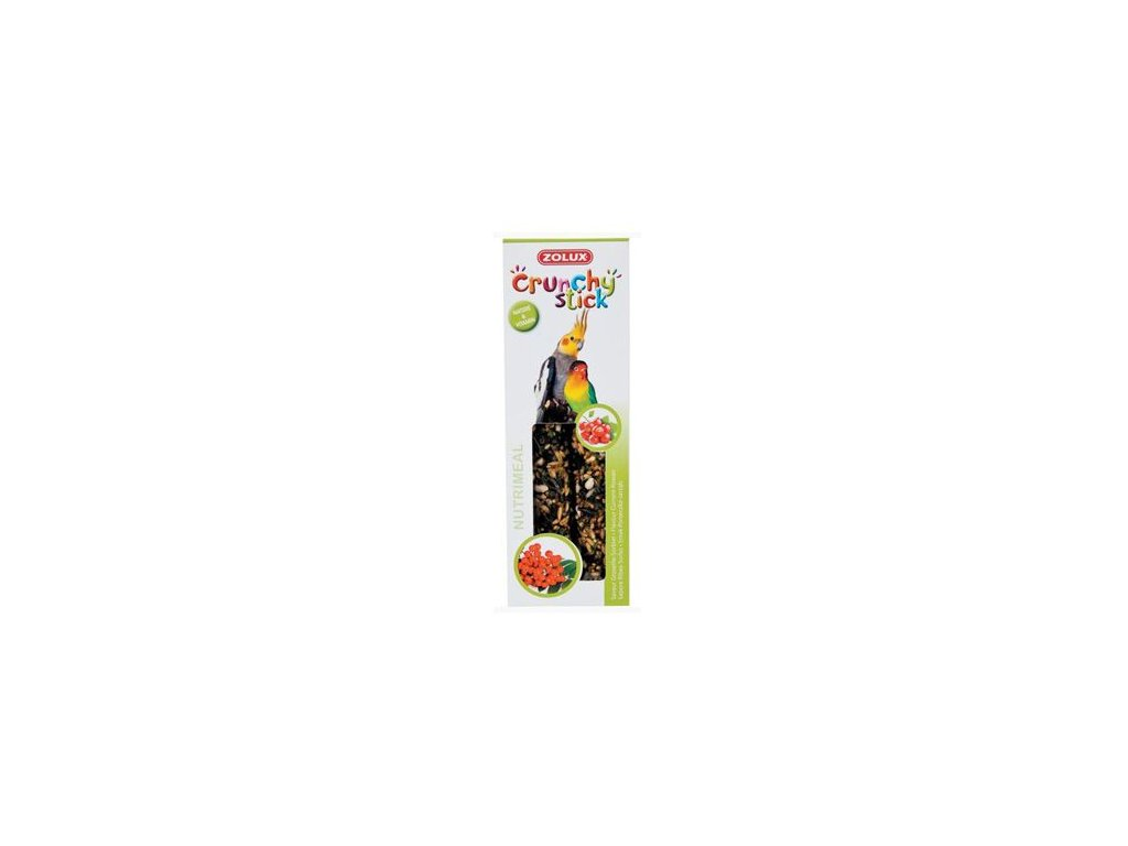 Crunchy Stick Large parakeet Rybíz/Jeřabiny 2ks