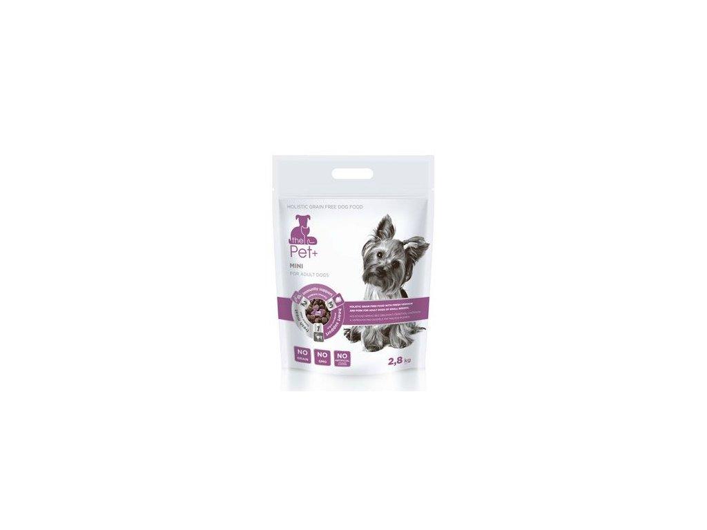 Krmivo Pet+ 3v1 pes MINI Adult 2,8kg