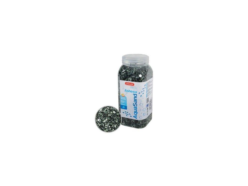 Písek akvarijní ASHEWA zelený 750ml Zolux
