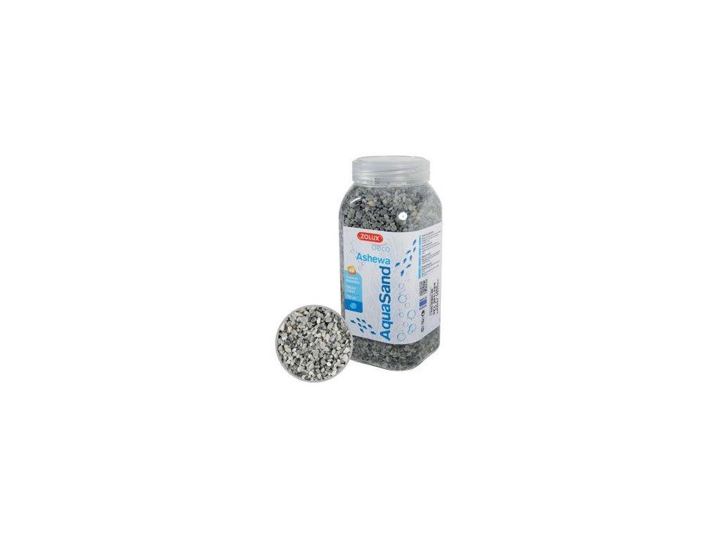 Písek akvarijní ASHEWA šedý 750ml Zolux