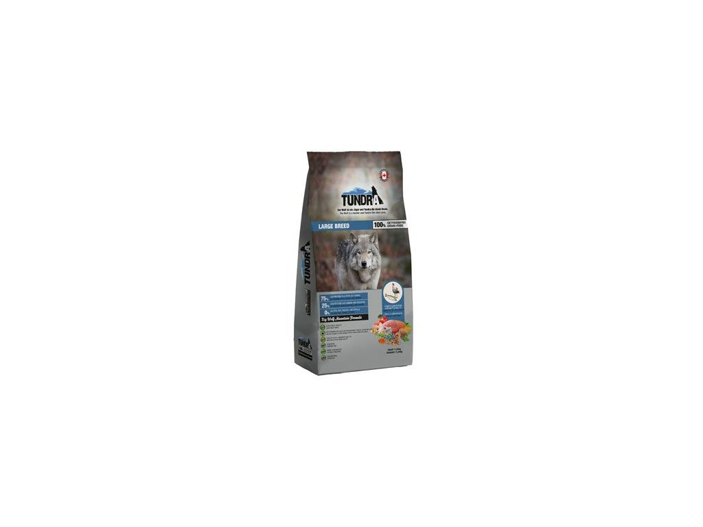 Tundra Dog Large Breed Big Wolf Moutain Formula