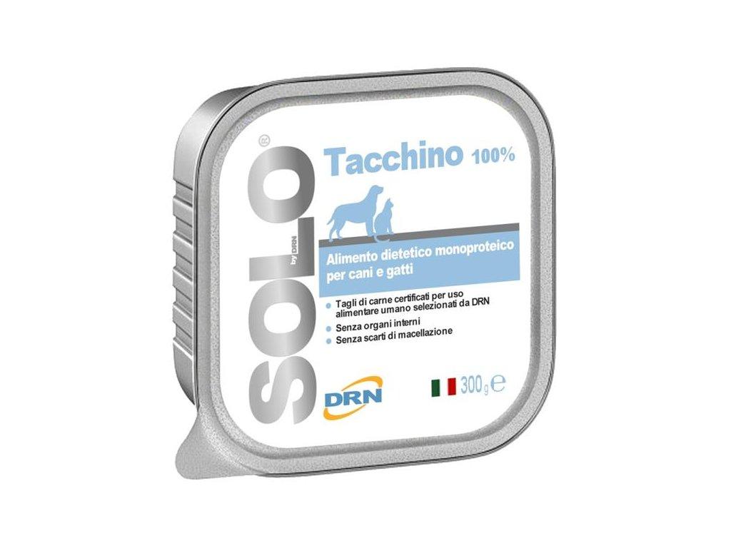 SOLO Tacchino 100% (krůta) vanička 300g