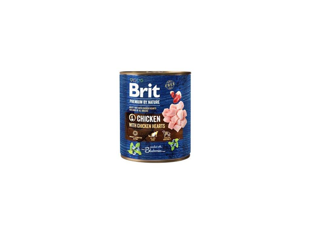 Brit Premium Dog by Nature konz Chicken & Hearts