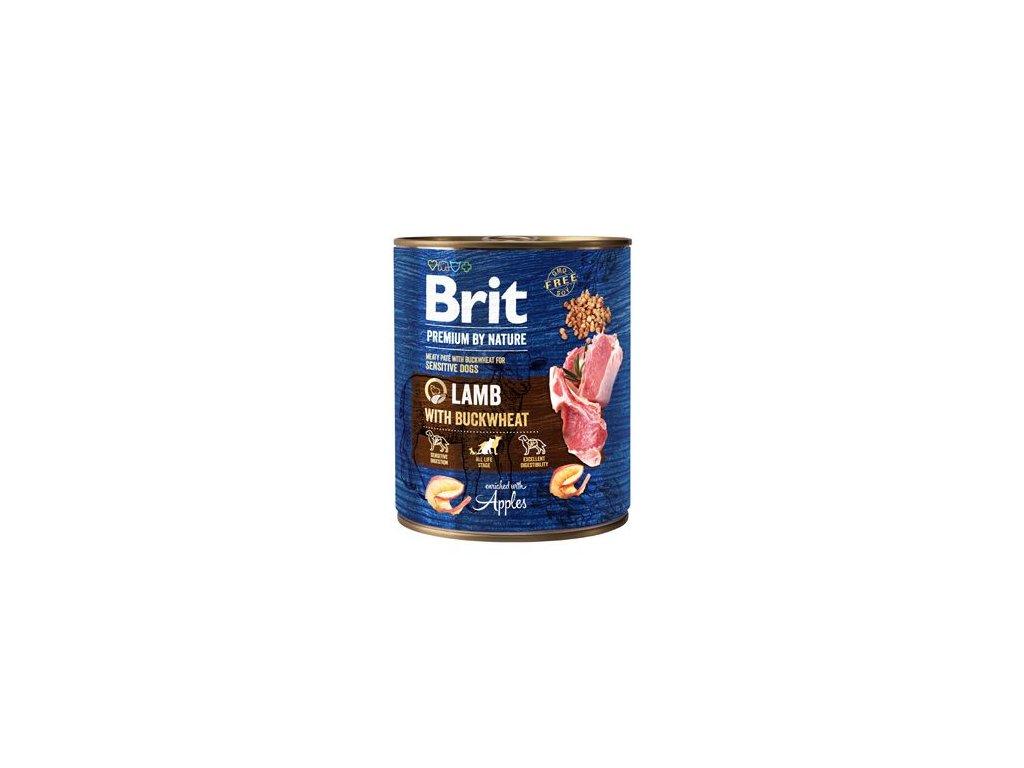 Brit Premium Dog by Nature konz Lamb & Buckwheat