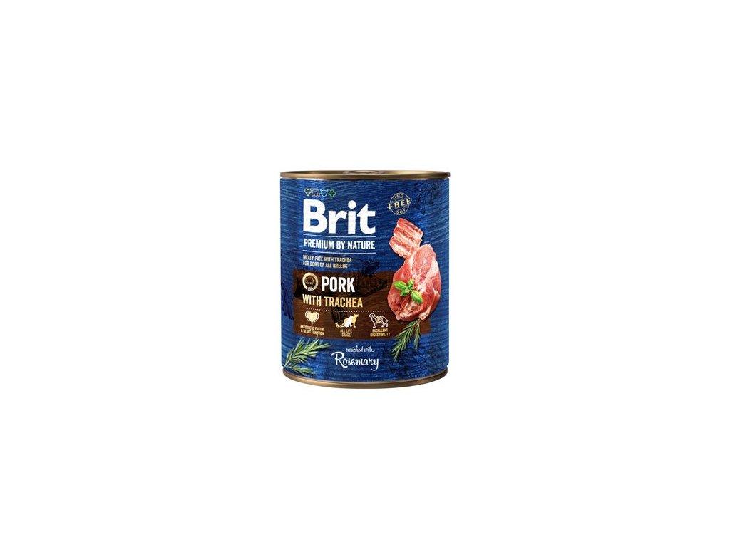 Brit Premium Dog by Nature konz Pork & Trachea