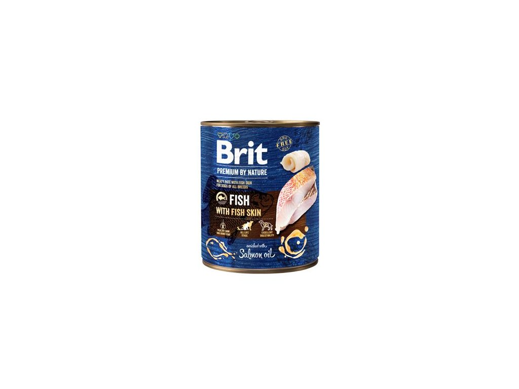 Brit Premium Dog by Nature konz Fish & Fish Skin