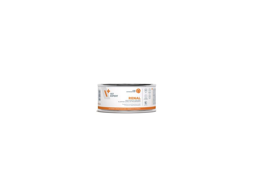 VetExpert VD 4T Renal Cat konzerva 100g