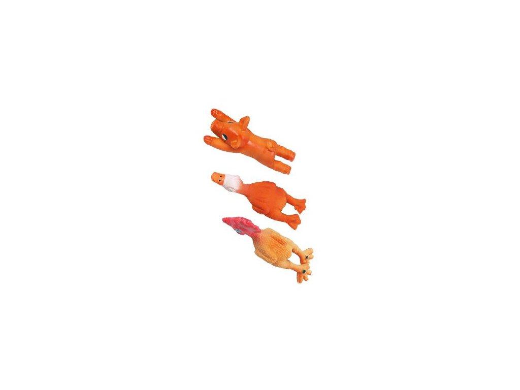 Hračka pes Figurky latex mix