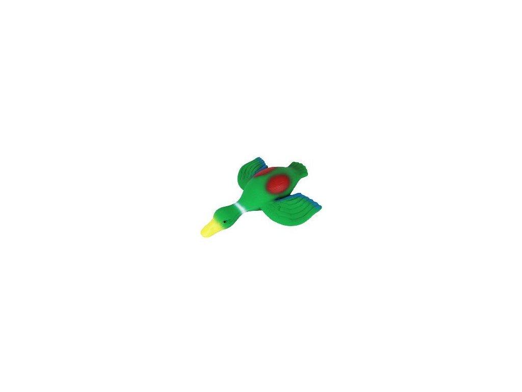 Hračka pes Kachna latex pískací