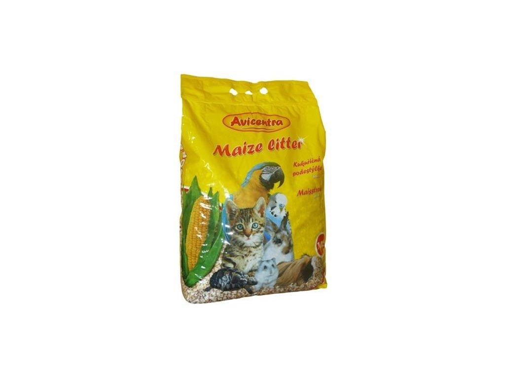 Podestýlka uni. kukuřičná hrubá Avicentra