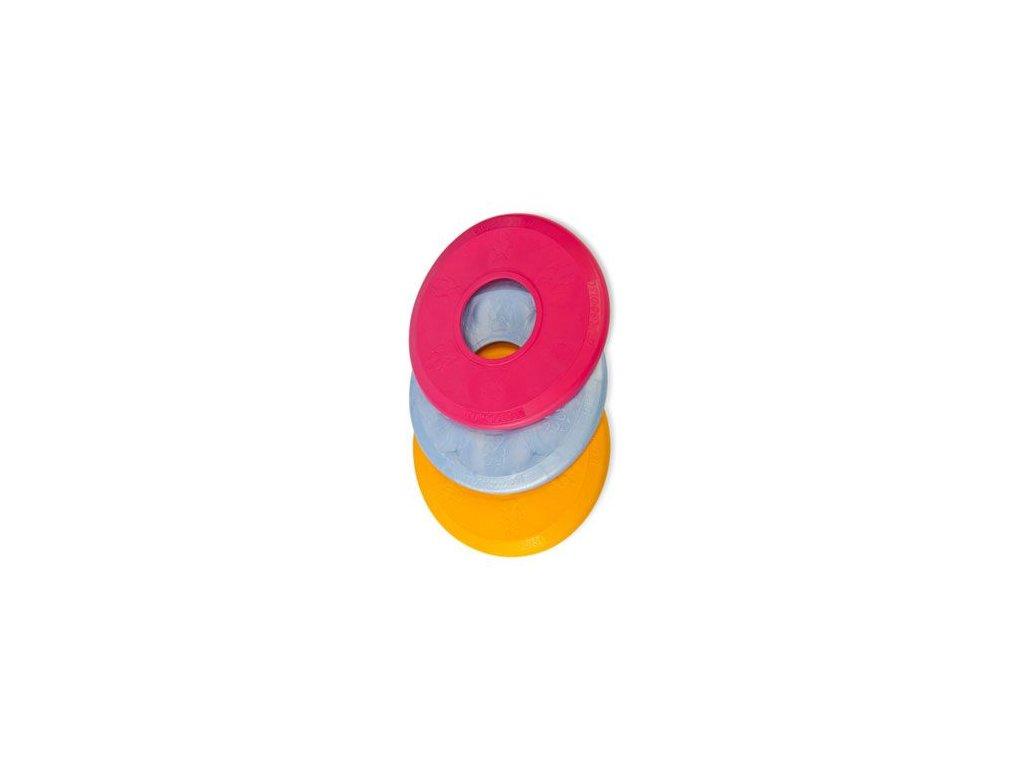 Hračka pes Disk MAX aport plovací vanilkový