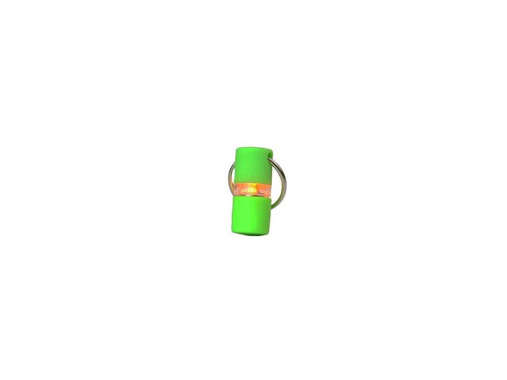 Světýlko blikací na obojek B'seen 360 zelené Kruuse