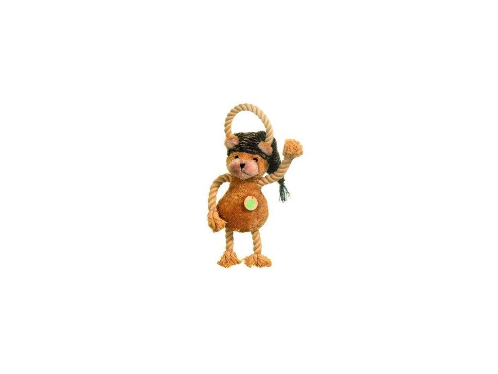 Hračka pes Medvídek plyš pískací