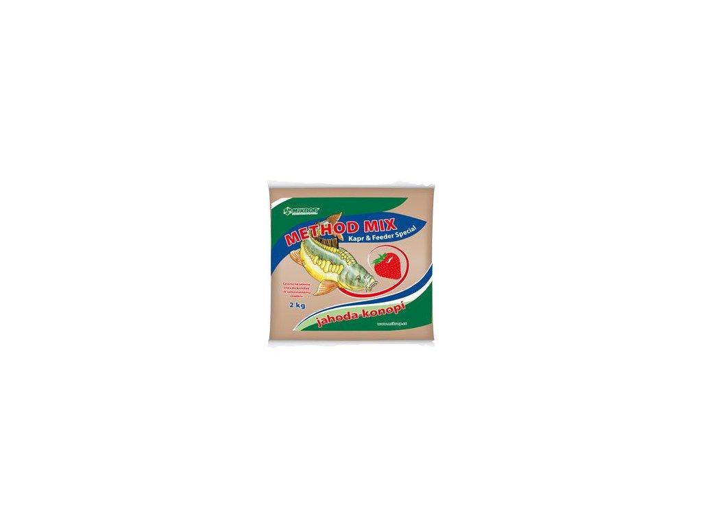 Method mix pro ryby jahoda - konopí 2kg
