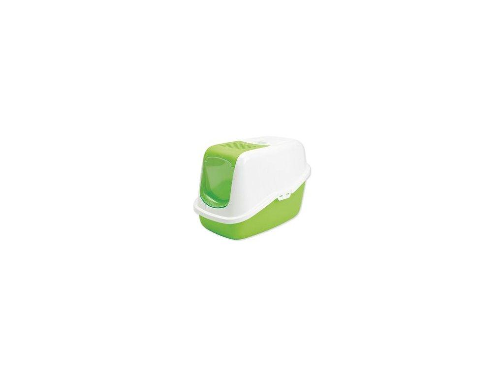 WC kočka kryté domek SAVIC Nestor zelená 1ks