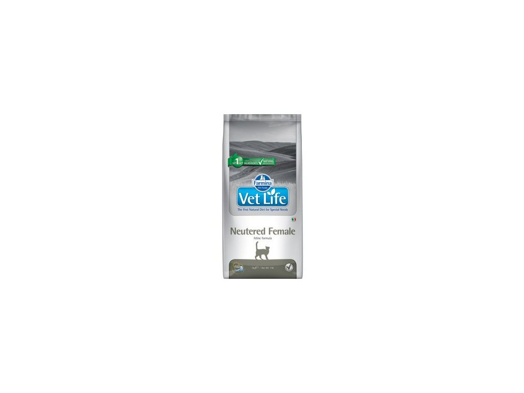 Vet Life Natural Feline Dry Neutered Female 5 kg