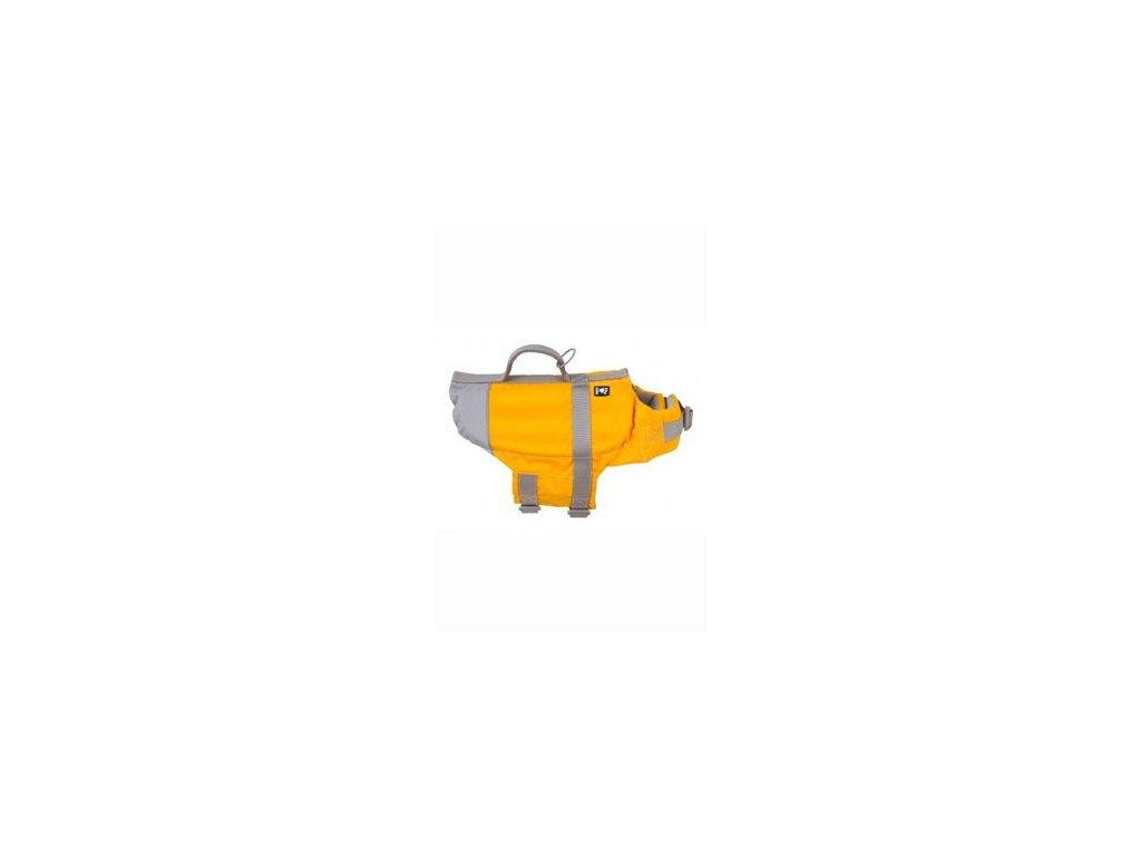 Vesta plavací Hurtta Life Savior oranžová