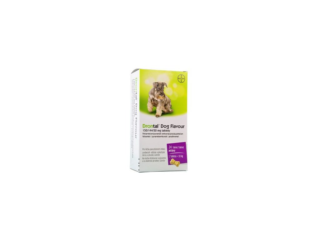 Drontal Dog Flavour 150/144/50mg 24tbl
