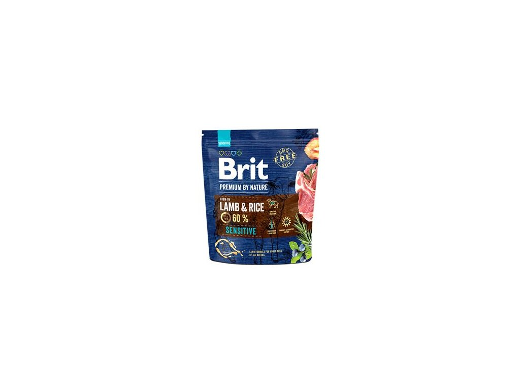 Brit Premium by Nature Dog Sensitive Lamb 15 kg