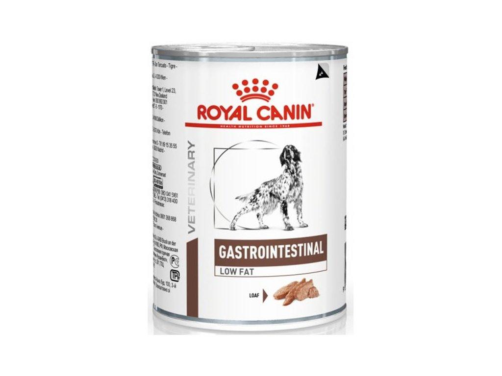 Royal Canin VD Dog konzerva Gastro Intestinal Low Fat 410g