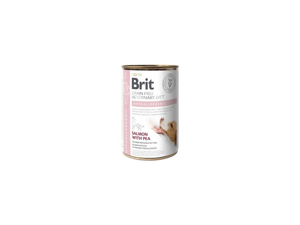 Brit VD Dog GF konzerva Hypoallergenic 400g