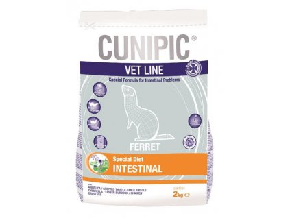 Cunipic VetLine Ferret Intestinal 2 kg