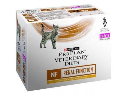 Purina PPVD Feline - NF Renal Funct.Chicken kapsička 10x80g