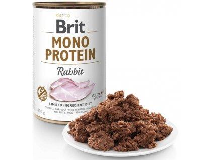 Brit Mono Protein konzerva Rabbit 400 g