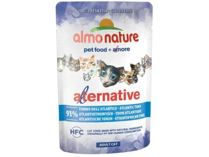 Almo Nature Alternative cat kaps. tuňák 55g