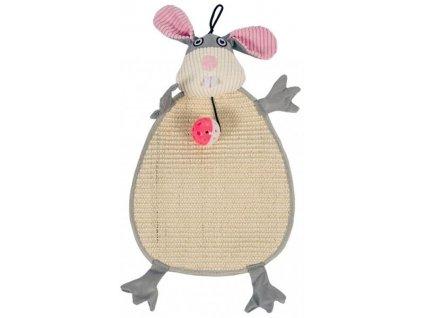 Škrabadlo králík plyšový 54x24 Duvo+