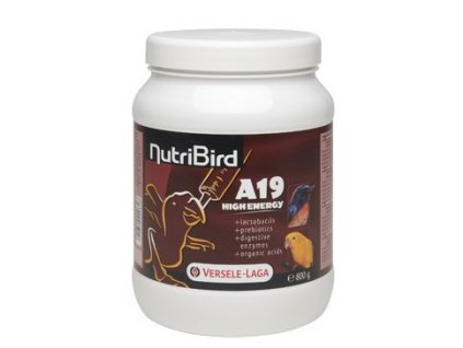 VL Nutribird A19 High Energy pro papoušky 800g