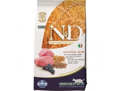 N&D Low Grain Cat Adult Lamb & Blueberry