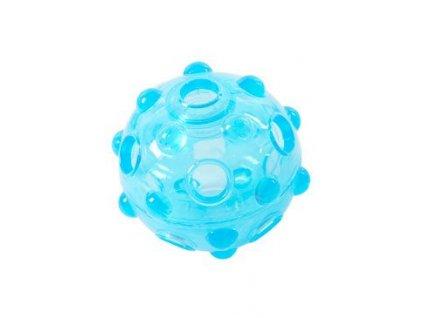 Hračka pes BUSTER Crunch Ball, světle modrá