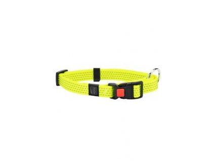 Obojek nylon ART Sportiv reflex 45-65/25 Žlutý KAR