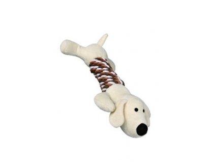 Hračka pes Zvíře aportovací plyš