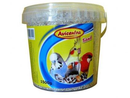 Avicentra písek pro ptáky s mušlemi 1,5kg