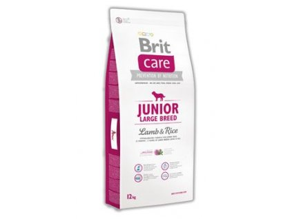Brit Care Dog Junior Large Breed Lamb & Rice